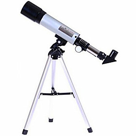 Phoenix 48x 50mm mm Telescopes 360mm.f/7 Astronomical Telescope Silver