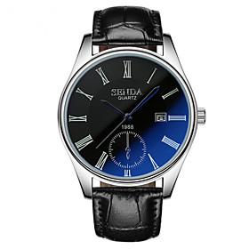 High Grade Calendar Blue Glass Waterproof Watch 5259411