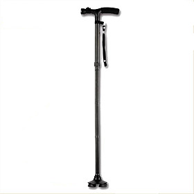 Trusty Cane Ultra-light Handle Dependable Folding Cane with Built-in Light Walking Cane Magic Foldable Cane for Elder 5255076