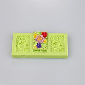 Square shape beautiful silicone mold silicone muffin pan soap mold cake decoration set 5284346