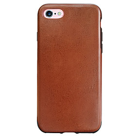 Per Resistente agli urti Custodia Custodia posteriore Custodia Tinta unita Morbido TPU AppleiPhone 7 Plus \/ iPhone 7 \/ iPhone 6s Plus\/6