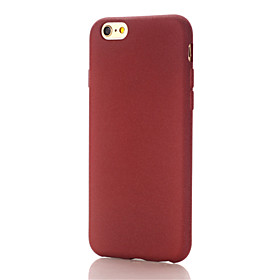 Per Custodia iPhone 6 \/ Custodia iPhone 6 Plus Effetto ghiaccio Custodia Custodia posteriore Custodia Other Resistente PC AppleiPhone 6s