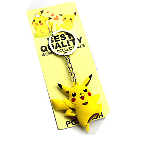 Cosplay Accessories Inspired by Pocket Little Monster PIKA PIKA Anime Cosplay Accessories Keychain PVC Men's Women's New Hot 5259554