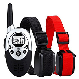 Aetertek newest AT-919C 1000M Remote 1 Dog Training Shock Collar Auto Anti Bark Submersible with LC 300767544