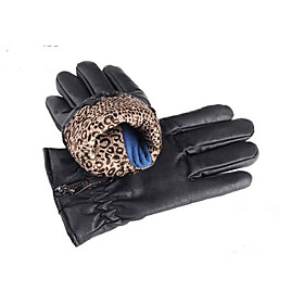 Men'S Leather Gloves Leather Gloves Motorcycle Riding Fall PU 5277615