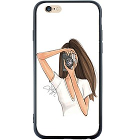 Per Custodia iPhone 6 \/ Custodia iPhone 6 Plus Fantasia\/disegno Custodia Custodia posteriore Custodia Other Morbido TPU AppleiPhone 6s