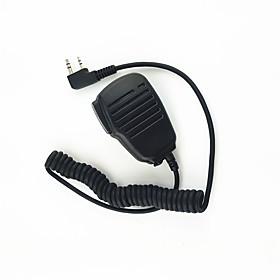 walkie-talkie hombro micrófono micrófono de sonido claro y soltar resistente adecuado para kendood baofeng tyt 365 wouxun 5270087