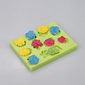 Flower silicone baking mold big rose cake pan decoration tools 5284426