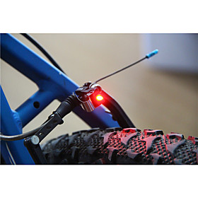Rear Bike Light / Safety Light / Tail Light LED Bike Light LED Cycling Small Size, Super Light C-Cell 100 lm Battery Cycling / Bike