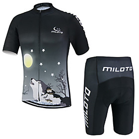 Miloto Summer Breathable Bike Sports Clothing Cycling Jersey/Mountain Bicycle Jersey Sportwear Mallot Ciclismo 5259623