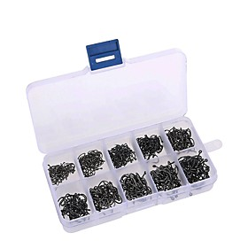 Fishing Accessories Fishing - 500 pcs - Easy to Use Carbon Steel - Sea Fishing Fly Fishing Bait Casting Ice Fishing Spinning Jigging