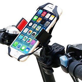 Bike Phone Mount Adjustable GPS 360°Rolling / Rotatable for Road Bike Mountain Bike MTB Plastic iPhone X iPhone XS iPhone XR Cycling Bicycle Black Red 1 pcs