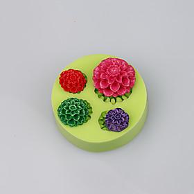 FDA LFGB cute mini silicone rose cup cake chocolate mold fimo clay tools 5284416