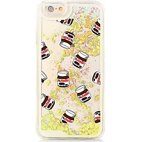 Bottles Back Flowing Quicksand Liquid/Printing Pattern PC Hard Cover For iPhone 6s Plus/6 Plus/6s/6/SE/5s/5 5237900