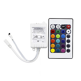 HRY 1pc Remote Controlled / Infrared Sensor / Strip Light Accessory Plastic IR Remote Control for RGB LED Strip Light