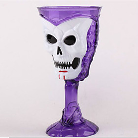 Halloween Luminous Cup Bar KTV Supplies LED Color Luminous Cup Drink Cup Decoration Supplies Color Random 5282068