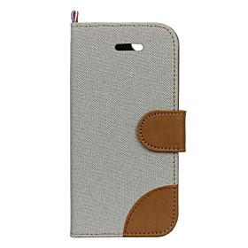 Per Porta-carte di credito Custodia Integrale Custodia Tinta unita Resistente Tessuto AppleiPhone 7 Plus \/ iPhone 7 \/ iPhone 6s Plus\/6