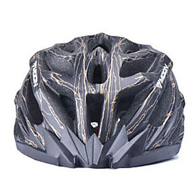 MOON Cycling Black And Golden PC/EPS 27 Vents Light Cycling Helmet 1067265