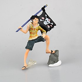 One Piece Monkey D. Luffy PVC 9cm Anime Action Figures Model Legetøj Doll Toy 5321672
