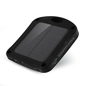 SUNWALK 6000mAh 2 in 1 Window Solar Charger Power Bank with Suction Cup  LED Sensor Lights for Mobile Phone 5338220