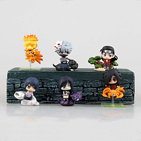 Cosplay Hokage PVC 6cm Figures Anime Action Jouets modèle Doll Toy 5321697