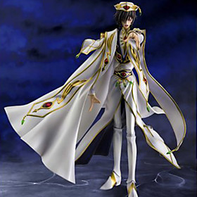 Kode Gease Lelouch Lamperouge PVC 18cm Anime Action Figures Model Legetøj Doll Toy 5321686