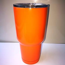 Rambler Tumbler 30oz Orange Powder Stainless Steel Cup Coated 5275951