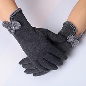 Gloves Sports Gloves Women's Cycling Gloves Spring / Autumn/Fall / Winter Bike GlovesKeep Warm / Anti-skidding / High Elasticity / 5355730