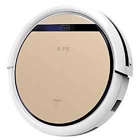 ilife v5s intelligent robotic vacuum cleaner smart remote control 2 in 1 dry wet sweeping robot
