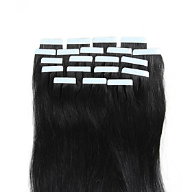 16-18inch white Blonde Tape in Brazilian Natural Human Hair Seamless Glue in Extensions Beauty Skin Weft 20pcs 4183863