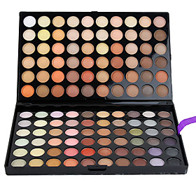 120 Eyeshadow Palette Matte / Shimmer Eyeshadow palette Cream Large Daily Makeup 120-4# 5344976