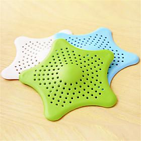 Bathroom Hair Filter Starfish Floor Drain Kitchen Sink Bathtub Sewer Hair Stopper (Random Colours) 5364814