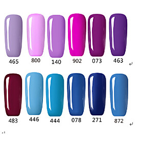 Fashing Purple color Blue color UVLED Lamp Gel Polish Color Gel Nail Gel Nail Polish 5350276