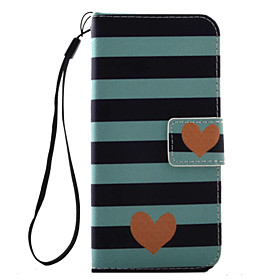 Case For Apple iPhone 8 / iPhone 8 Plus / iPhone 7 Card Holder / Flip / Pattern Full Body Cases Heart Hard PU Leather for iPhone 8 Plus / iPhone 8 / iPhone 7 P