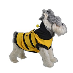 Cat Dog Costume Dog Clothes Summer Spring/Fall Animal Cute Cosplay Yellow 5337934
