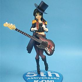 Cosplay Mio Akiyama PVC 22cm Anime Action Figures Model Legetøj Doll Toy 5321675