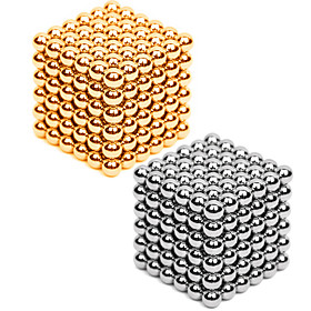 2216 pcs 3mm Magnet Toy Magnetic Balls Building Blocks Puzzle Cube Metalic Contemporary Classic  Timeless Chic  Modern Stress and Anxiety Relief Office Desk To