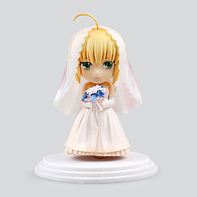 Fate/Stay Night Saber Lily PVC 6cm Anime Action Figures Model Legetøj Doll Toy 5321695