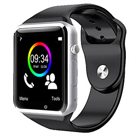w8 bluetooth smartwatch avec appareil photo 2g fente pour carte tf smartphone smartwatch iphone android