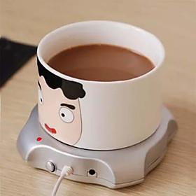 tazza USB Warmer ufficio caffè inverno bere il tè tazza pad riscaldatore mat 2.5W 5v calcolatore caldo 5328251