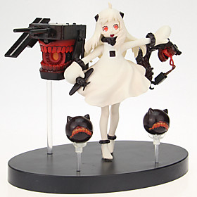 Kantai Collection Cosplay PVC 14cm Anime Action Figures Model Legetøj Doll Toy 5321708