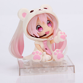 Cosplay Snow Miku PVC 14cm Anime Action Figures Model Legetøj Doll Toy 5321689