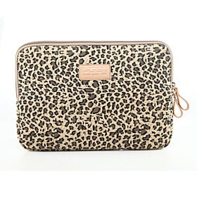 Sleeves Sleeve Case Leopard Print Textile for MacBook Air 13-inch / Macbook Pro 13-inch / Macbook Air 11-inch