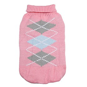 Classic Diamonds Pattern Winter Sweater Puppy Clothing for Pets Dogs (Assorted Sizes and Colours) 5328089