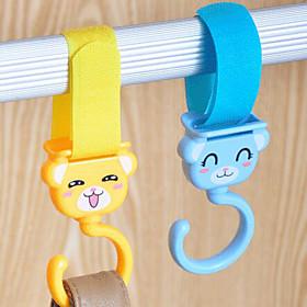 Textile Plastic Open Travel Shopping Home Organization, 1set Hooks Novelty Hooks