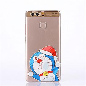Cartoon Pattern Soft Ultra-thin TPU Back Cover for Huawei P9Plus P9Lite P9 P8lite P8 5333007