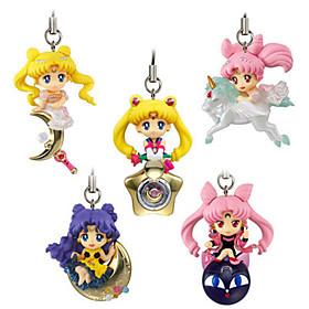 Sailor Moon Princess Serenity PVC 5cm Figures Anime Action Jouets modèle Doll Toy 5321694