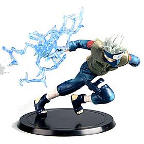 Figures Anime Action Inspiré par Naruto Hatake Kakashi Anime Accessoires de Cosplay figure Bleu PVC 5401121