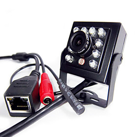 720P Mini IR IP Camera Indoor Hidden 940nm Ir Led Ip Camera Pinhole Smallest Night Vision Audio Camera