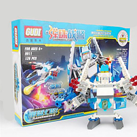 Action Figures  Stuffed Animals / Building Blocks For Gift  Building Blocks Model  Building Toy Warrior / Robot ABS5 to 7 Years / 8 to 126PCS 5421508